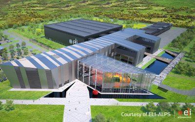Būsimasis ELI-ALPS centras Vengrijoje
