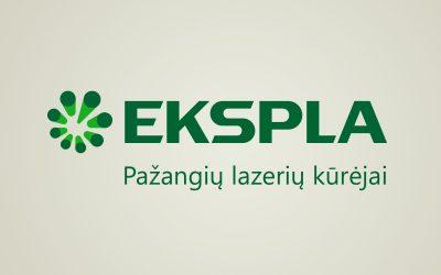 """""""Ekspla"""" naujasis logotipas"""