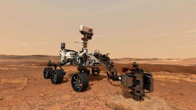 Mars2020 marsaeigis, NASA nuotr.